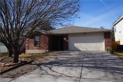Cedar Park Single Family Home Pending - Taking Backups: 2213 John Tee Dr