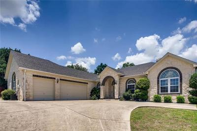 Round Rock Single Family Home Pending - Taking Backups: 1518 Pinehurst Ln