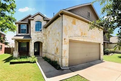 Hays County, Travis County, Williamson County Single Family Home For Sale: 569 Travertine Trl