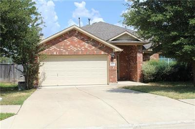 Round Rock Rental For Rent: 4499 Heritage Well Ln
