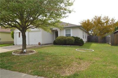 Leander Single Family Home Pending - Taking Backups: 1001 Terrace Dr