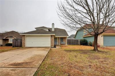 Round Rock Single Family Home For Sale: 1607 Southwestern Trl