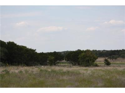 Georgetown Residential Lots & Land For Sale: 1520 County Road 245