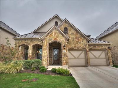 Steiner Ranch Single Family Home For Sale: 4300 Vista Verde Dr