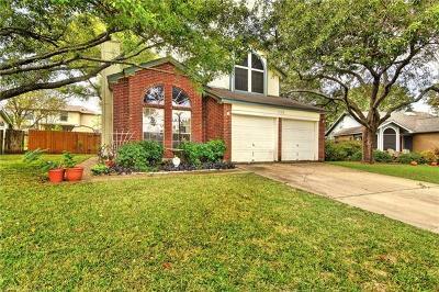 Round Rock Single Family Home For Sale: 2108 Elder Pl