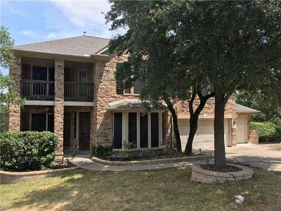 Cedar Park Single Family Home For Sale: 300 Aspen Cv