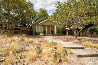 Travis County Single Family Home Pending - Taking Backups: 909 W Gibson St
