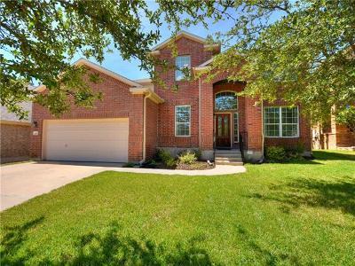Cedar Park Single Family Home Pending - Taking Backups: 105 S Gadwall Ln
