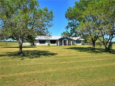 Giddings Single Family Home For Sale: 1986 County Road 113