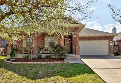 Manor Single Family Home For Sale: 11509 Shadow Creek Dr