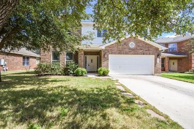 Leander Single Family Home For Sale: 2112 Fall Creek Dr