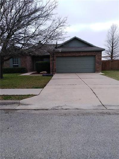 Hutto Single Family Home Pending - Taking Backups: 100 Bluejay Cv