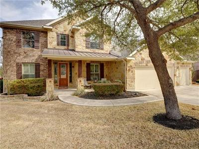 Cedar Park Single Family Home For Sale: 206 Broken Arrow Dr