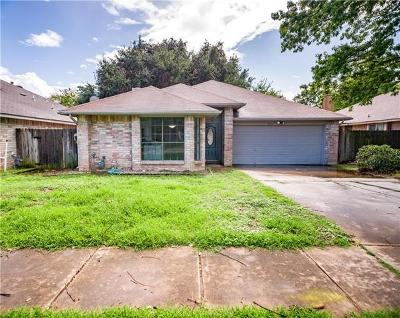 Austin Single Family Home For Sale: 14307 Vandever St