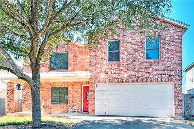 Pflugerville Single Family Home For Sale: 17924 Narsitin Ln