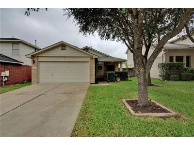 Pflugerville Single Family Home Pending - Taking Backups: 1128 Vincent Pl