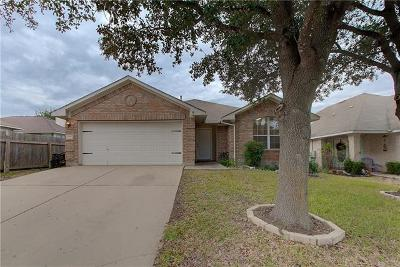 Pflugerville Single Family Home Pending - Taking Backups: 17906 Madden Dr