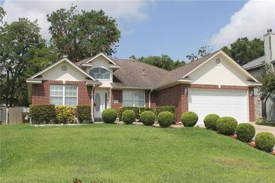 Round Rock Single Family Home For Sale: 2106 Surrey Dr