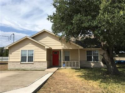 Bertram TX Single Family Home For Sale: $198,000