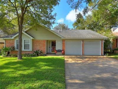 Travis County Single Family Home Pending - Taking Backups: 2803 Jorwoods Dr