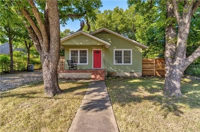 Austin Single Family Home For Sale: 612 Gaylor St #1