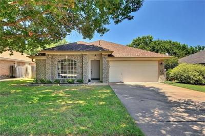 Travis County Single Family Home Pending - Taking Backups: 7807 Vail Valley Dr