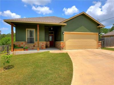Bastrop Single Family Home Pending - Taking Backups: 320 Kaanapali Ln