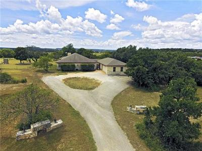 Burnet County Single Family Home For Sale: 2005 E State Highway 29