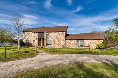 Bell County, Bosque County, Burnet County, Calhoun County, Coryell County, Lampasas County, Limestone County, Llano County, McLennan County, Milam County, Mills County, San Saba County, Williamson County, Hamilton County Single Family Home For Sale: 701 High Lonesome Trl