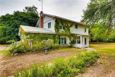 San Marcos Single Family Home For Sale: 1816 Uhland Rd