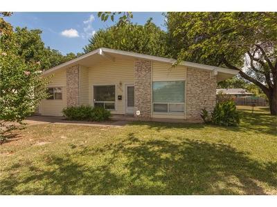 Austin Single Family Home Pending - Taking Backups: 1000 Alden Dr