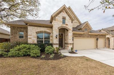 Leander Single Family Home For Sale: 2525 Hilltop Divide Ln