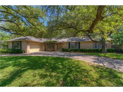 Travis County Single Family Home For Sale: 3705 Edgemont Dr