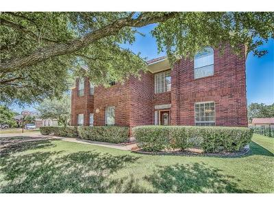 Round Rock Single Family Home For Sale: 108 Silver Oak Dr