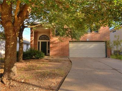 Round Rock Single Family Home For Sale: 1421 Thibodeaux Dr