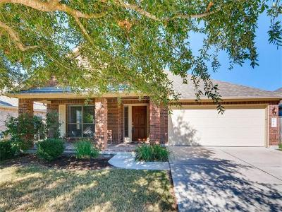 Round Rock Single Family Home For Sale: 2824 Angelina Dr