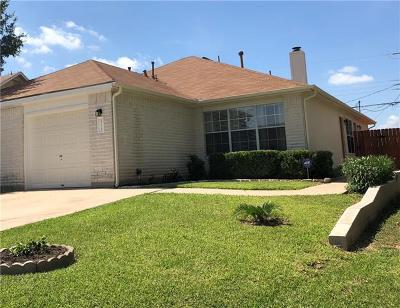 Pflugerville Condo/Townhouse For Sale: 1235 Orchard Park Cir