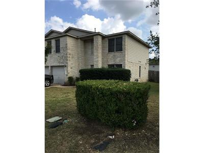 Hutto Single Family Home For Sale: 402 Country Estates Dr