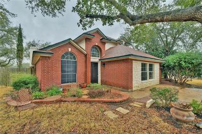 Cedar Park Single Family Home For Sale: 2310 Macaw Dr