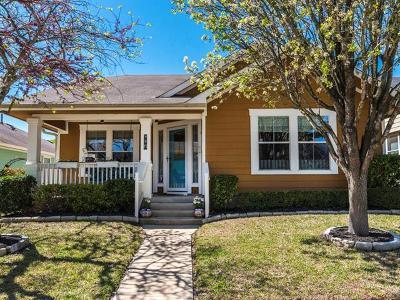 Kyle Single Family Home For Sale: 601 Hogan