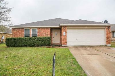 Hutto Single Family Home For Sale: 202 Waterlily Way