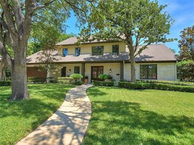Single Family Home Active Contingent: 1901 Hill Oaks Ct