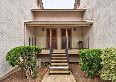 Austin Condo/Townhouse For Sale: 6910 Hart Ln #608