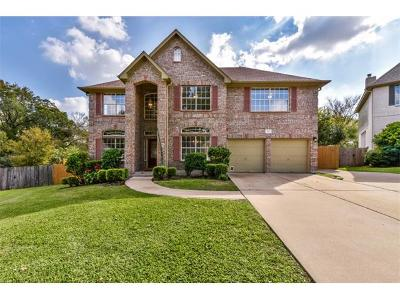 Round Rock Single Family Home Pending - Taking Backups: 1707 Red Rock Cv