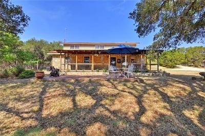 Dripping Springs Single Family Home For Sale: 940 Oneil Ranch Road
