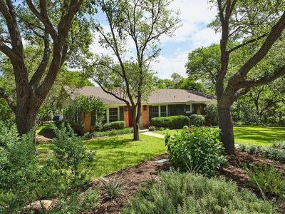 Austin Single Family Home For Sale: 2702 Rockingham Dr