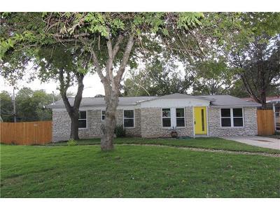 Austin Single Family Home For Sale: 4800 Blueberry Trl