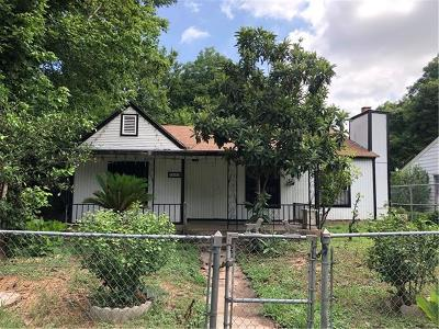 Austin Single Family Home For Sale: 3606 Thompson St