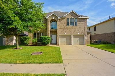 Round Rock TX Single Family Home For Sale: $318,900