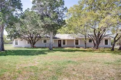 Liberty Hill Single Family Home For Sale: 1214 County Road 323a